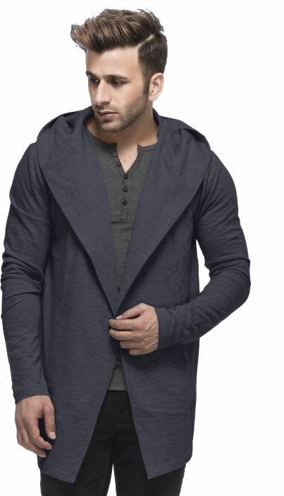 Tinted Full Sleeve Solid Mens Jacket