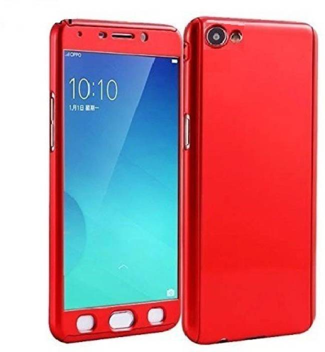 timeless design 69fb3 7407c Ifra Front & Back Case for 360 Back And Front Protection With Temperd Glass  Cover For-Vivo 1606-Red
