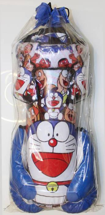 c2884688f0e9 GLS Kids (4 Yrs - 10 Yrs) Doraemon Blue Boxing Kit - 1 Punching Bag 1 -  Head Security Gear 2 - Boxing Gloves Boxing Kit - Buy GLS Kids (4 Yrs ...