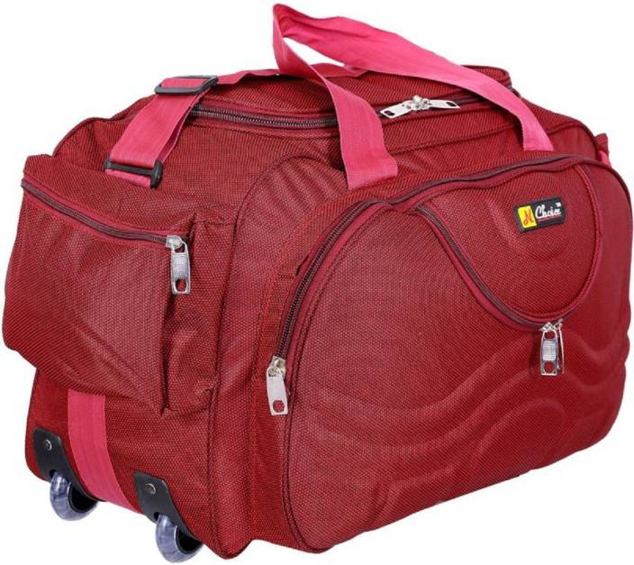 8f12dd3a9c53 Inte Enterprises (Expandable) red699 Duffel Strolley Bag red - Price ...
