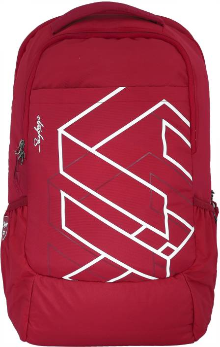 90180708c3 Skybags Felix 01 30 L Laptop Backpack Red - Price in India ...