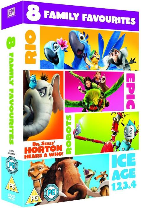 a7054e8bd902c 8 Family Movies Collection  Ice Age 1