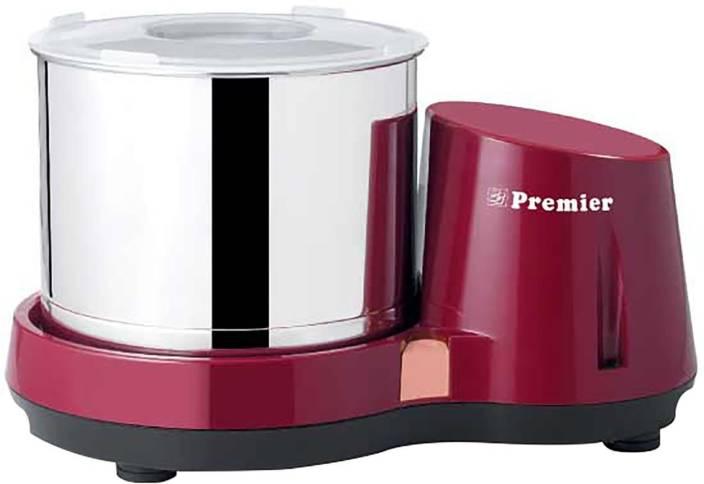 premier Compact PG 501 , 2 litres Wet Grinder (Red)