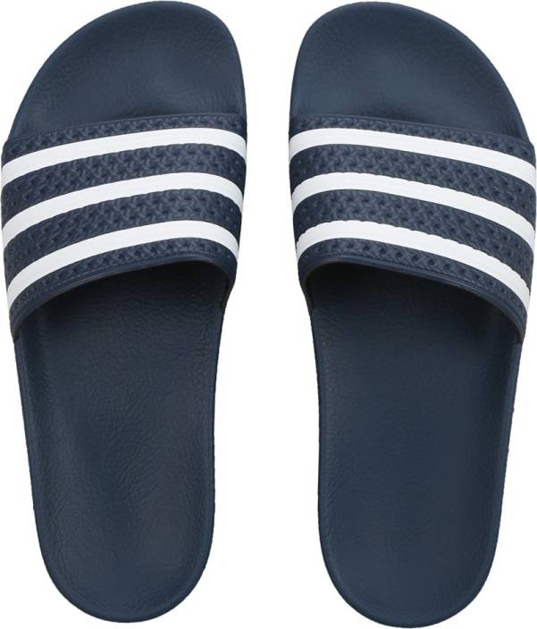 san francisco b46ae 01844 ADIDAS ORIGINALS ADILETTE Slippers - Buy ADIBLUWHTADIBLU Color ADIDAS  ORIGINALS ADILETTE Slippers Online at Best Price - Shop Online for  Footwears in ...