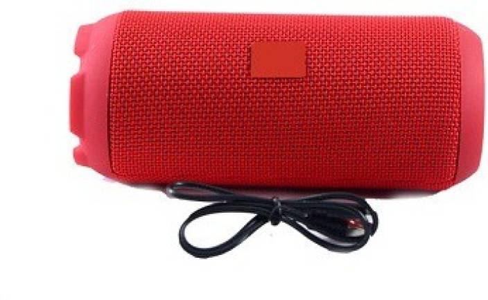 techdeal CHARGE 6 PLUS (RED) 12 W Bluetooth  Speaker