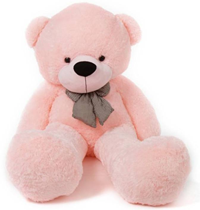 AV TOYS 4 Feet Teddy Bear (Pink Color)  - 122 cm