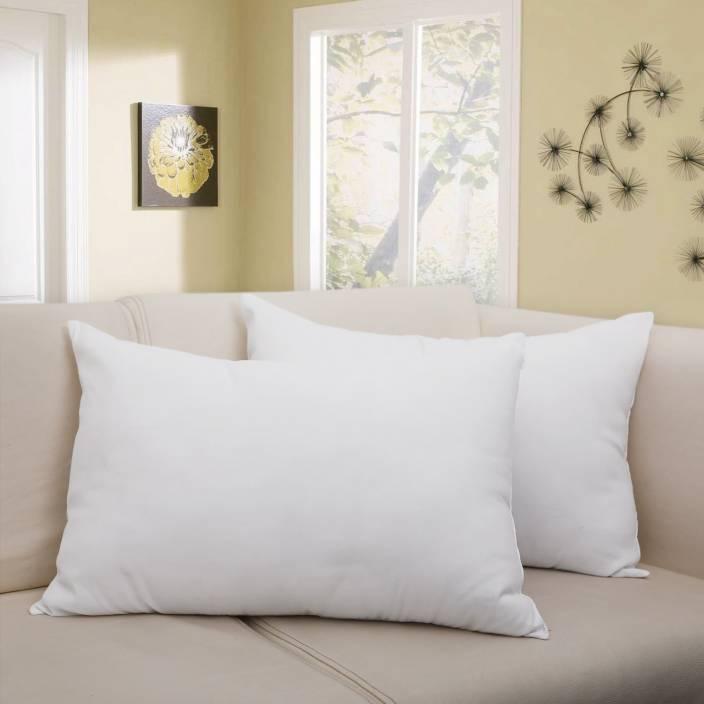 Flipkart SmartBuy Plain Bed Sleeping Pillow Pack of 2 - Buy Flipkart ... 64a6192be96f