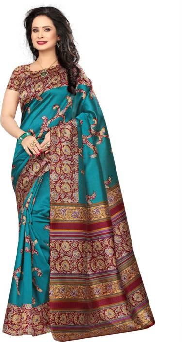 Saara Self Design Daily Wear Poly Silk Saree