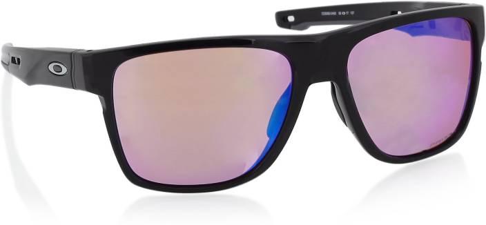 7edd8415dbf Buy Oakley CROSSRANGE XL Wayfarer Sunglass Red For Men Online   Best ...