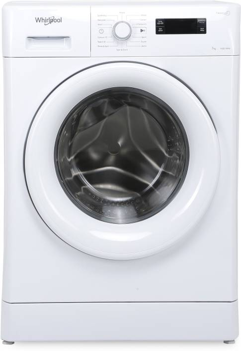 5c98f74ed7168 Whirlpool 7 kg Fully Automatic Front Load Washing Machine White (Fresh Care  7110)