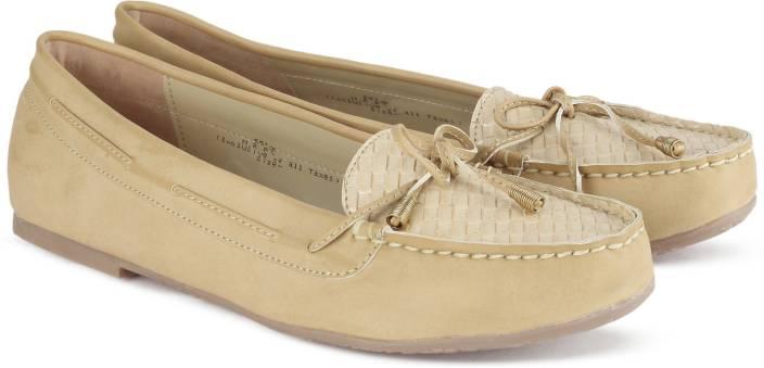 d32ceb0bdee Bata GRETCHEN Loafers For Women - Buy Tan Color Bata GRETCHEN ...