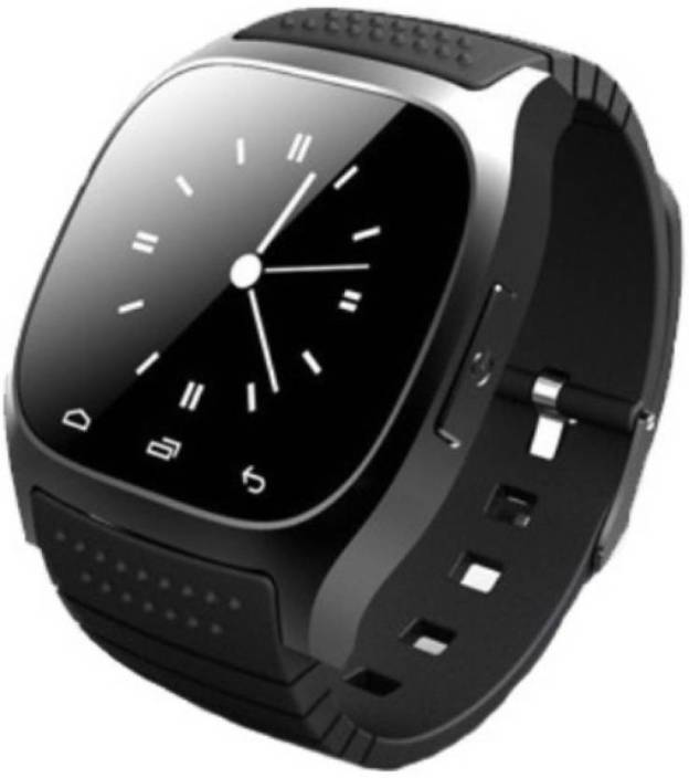 Divine M26 Black Bluetooth Smart Watch Phone with Camera with Apps like  Facebook and WhatsApp For Android/IOS Black Smartwatch