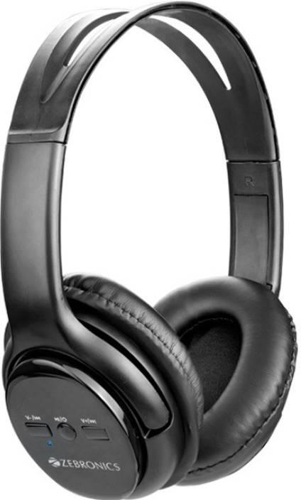 19aa10126d3 Zebronics ZEB-AURA Bluetooth Headset with Mic Price in India - Buy ...