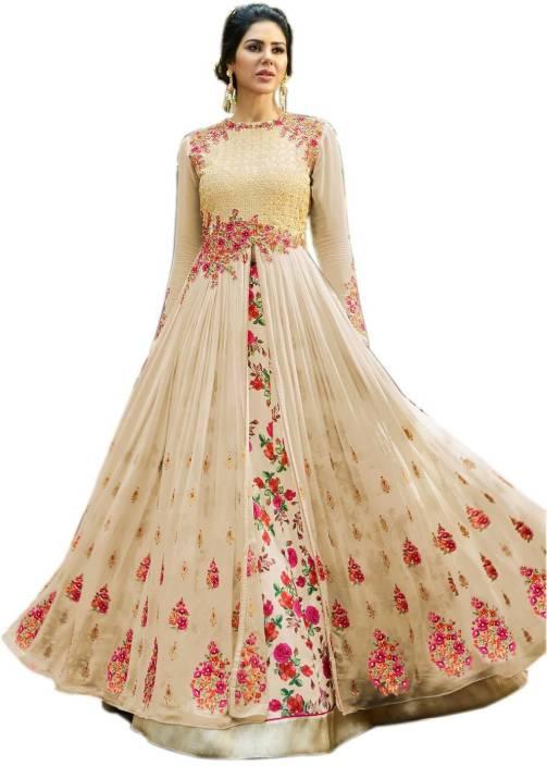 6ce6f3877 Ethnic Empire Anarkali Gown Price in India - Buy Ethnic Empire ...