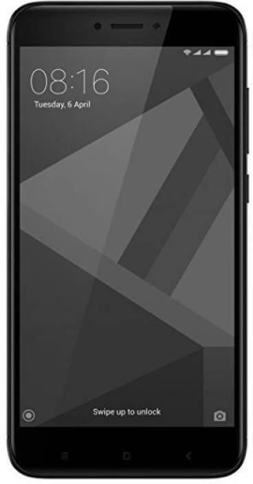 Redmi 4 (Black, 16 GB)