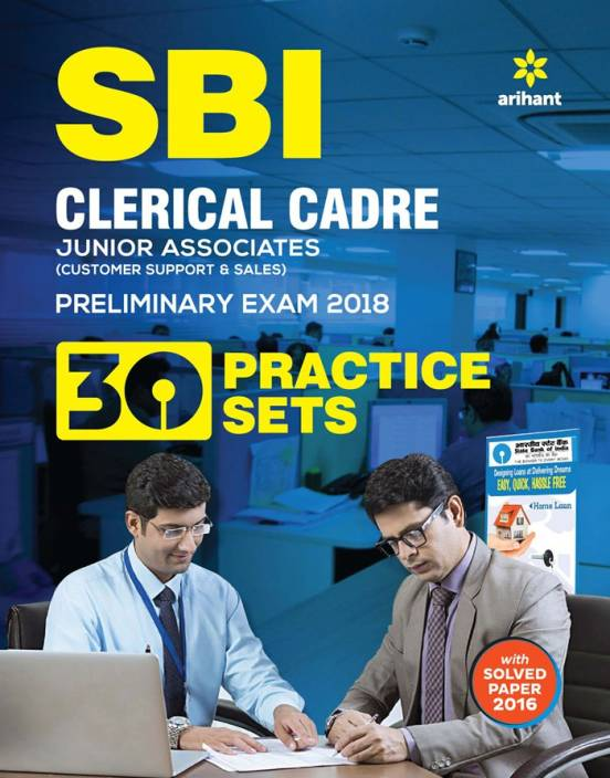 SBI clerical cadre Junior Associate 30 Practice Set Pre Exam 2018