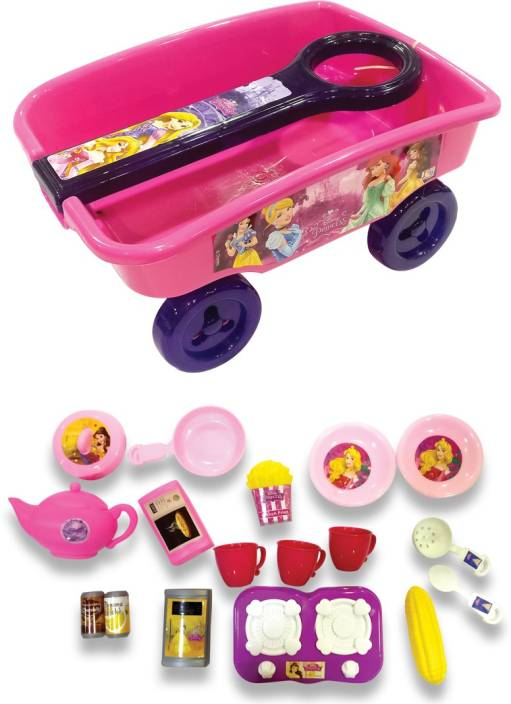 Itoys Combo Of Disney Princess Role Play Toys Of Kitchen Set