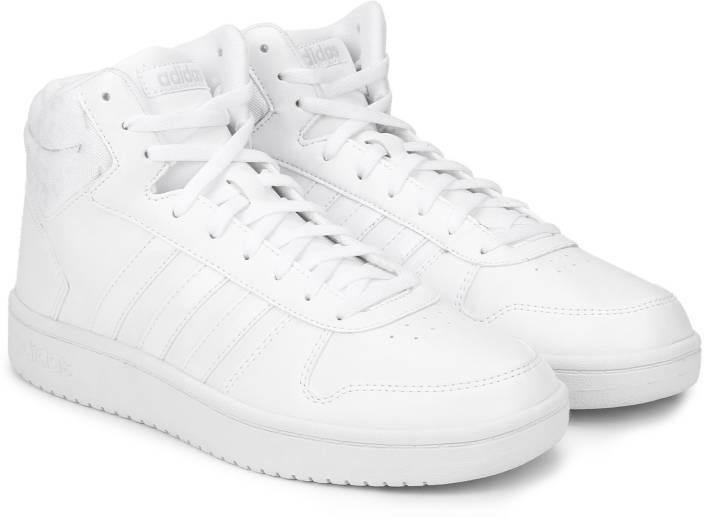 ADIDAS HOOPS 2.0 MID W Basketball Shoes For Women - Buy FTWWHT ... 6313f2d3f