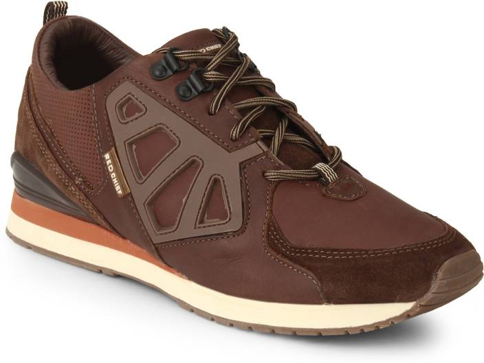 Red Chief Leather Lace Up Shoes For Men