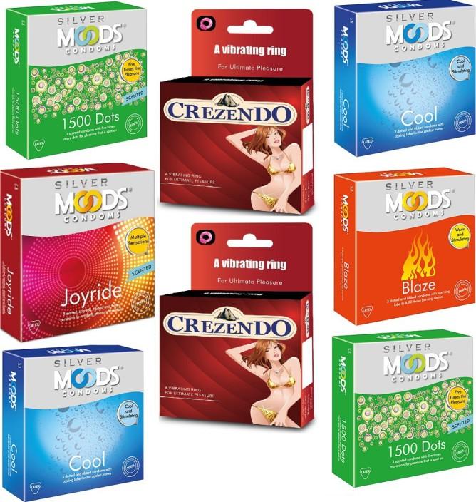 Crezendo men condom with