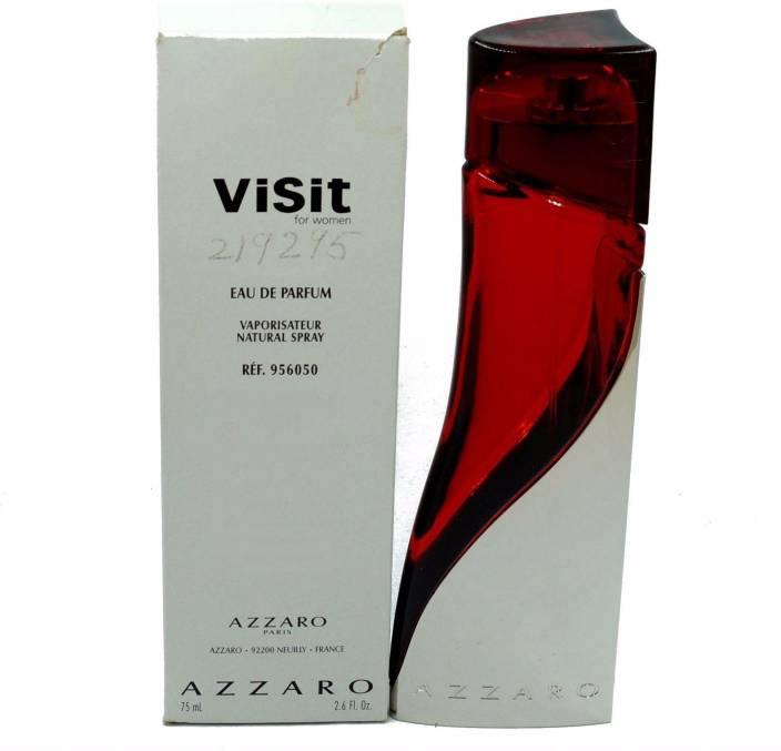 Buy Azzaro Visit For Women Eau De Parfum 75 Ml Online In India