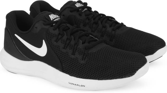 release date: 2187e 7c8fb Nike WMNS NIKE LUNAR APPARENT Running Shoes For Women (Black, White)