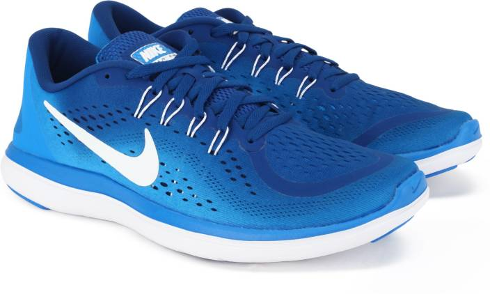 475723b3b708 Nike FLEX 2017 RN Running Shoes For Men - Buy GYM BLUE WHITE-PHOTO ...