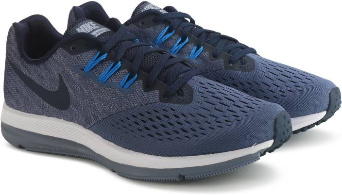 0da1048ba24 Nike ZOOM WINFLO 4 Running Shoes For Men - Buy DIFFUSED BLUE ...