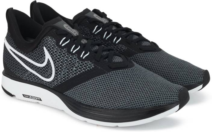 aef995e3b27 Nike WMNS NIKE ZOOM STRIKE Running Shoes For Women - Buy Black Color ...
