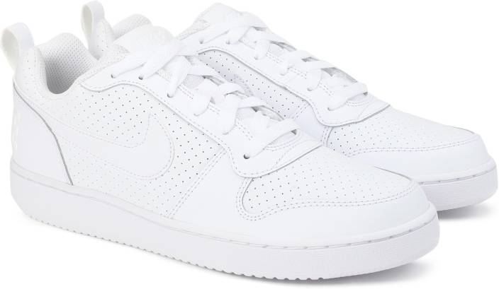 988cc8ca3a3 Nike WMNS NIKE COURT BOROUGH LOW Sneakers For Women - Buy WHITE ...