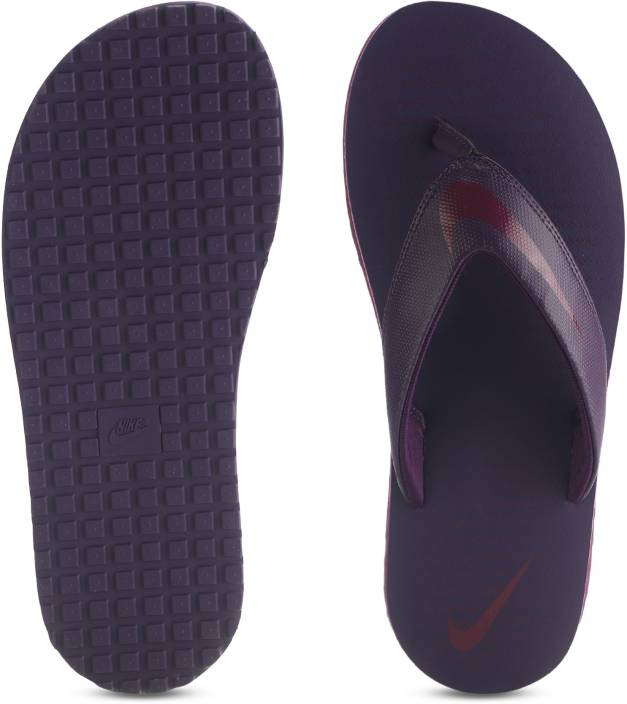 8682ff7be06f Nike CHROMA THONG 5 Slippers - Buy BORDEAUX GRAND PURPLE-GRAND PURPLE Color  Nike CHROMA THONG 5 Slippers Online at Best Price - Shop Online for  Footwears in ...