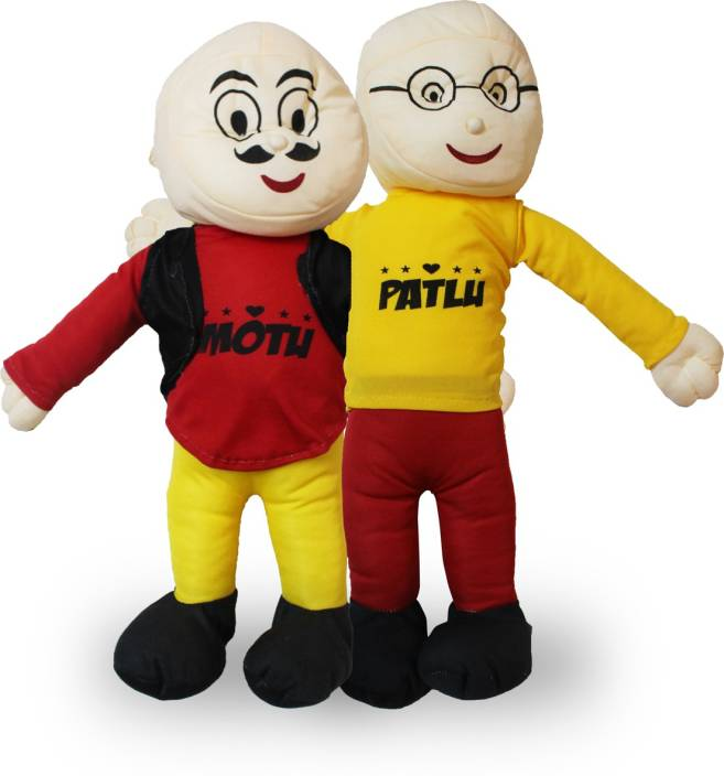 Akshat Cartoon Fame Motu Patlu Jodi Soft Toy For Children Gifts 45
