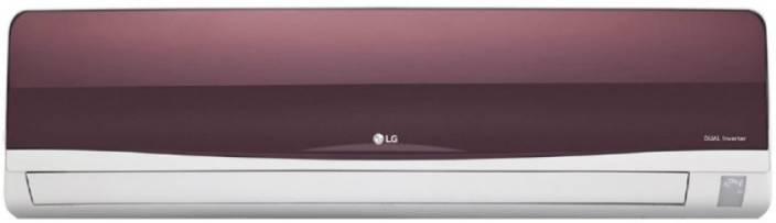 LG 1 Ton 3 Star BEE Rating 2018 Inverter AC  - White, Maroon