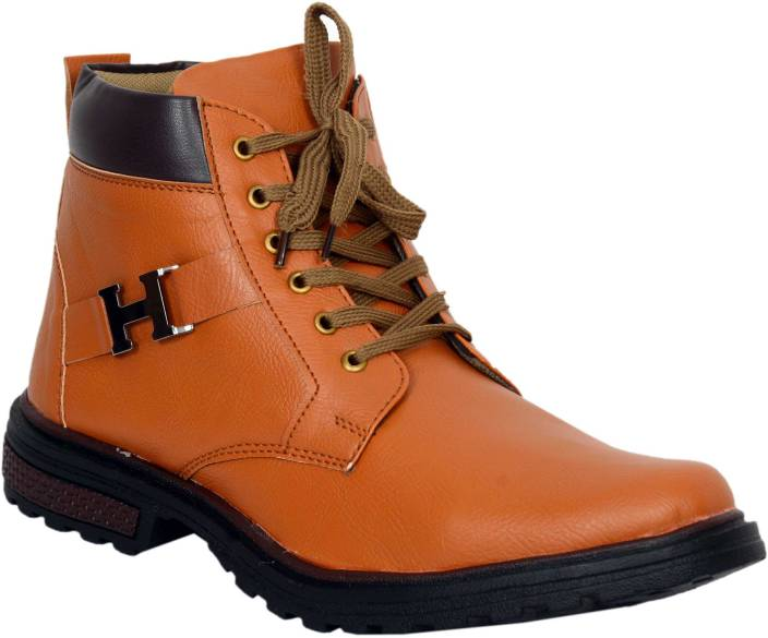 Red Rose Boots For Men