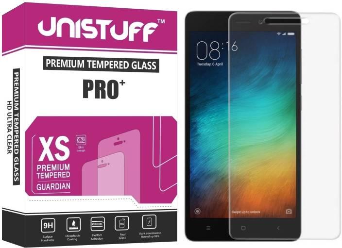 Unistuff Tempered Glass Guard for Mi Redmi Note 4