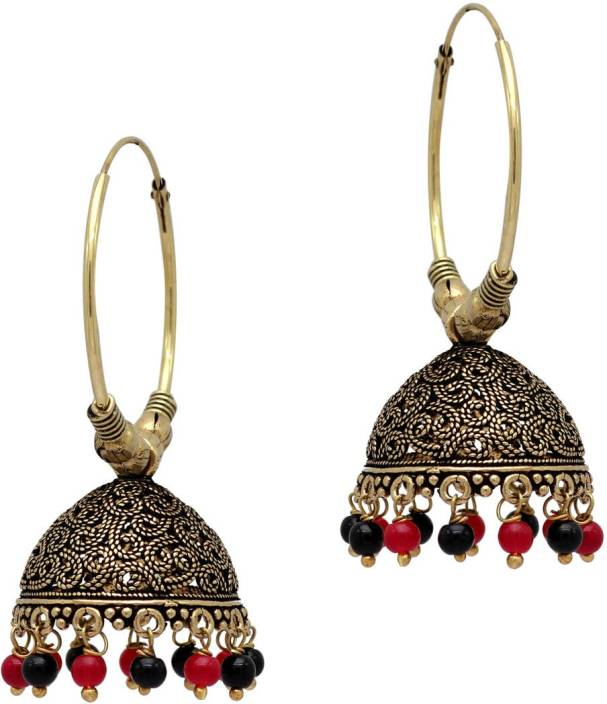 00812c90f3603 Flipkart.com - Buy Jaipur Mart Black Color Alloy Metal Gold Plated ...
