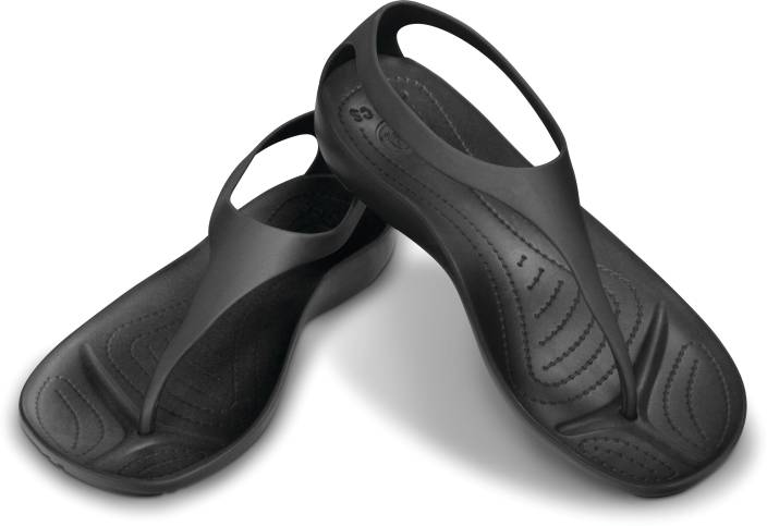 54c585e959e7 Crocs Sexi Flip Flip Flops - Buy Black Black Color Crocs Sexi Flip Flip  Flops Online at Best Price - Shop Online for Footwears in India