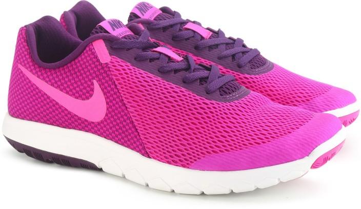 amazon pas cher Nike Dames Expérience Flex Chaussures De Course Wrangler Noir / Rose officiel sortie professionnelle 1NSe49