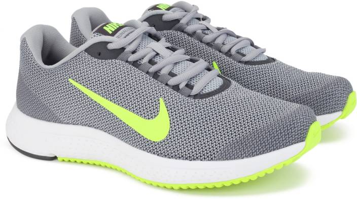 596c3341e9d Nike RUNALLDAY Running Shoes For Men - Buy WOLF GREY VOLT-ANTHRACITE ...