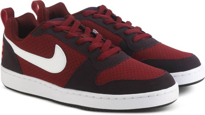 best website 1ccb7 30f31 Nike COURT BOROUGH LOW Sneakers For Men (Red)