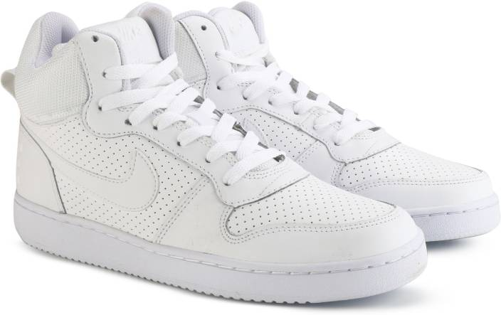 size 40 f9b44 c7901 Nike COURT BOROUGH MID Sneakers For Men (White)