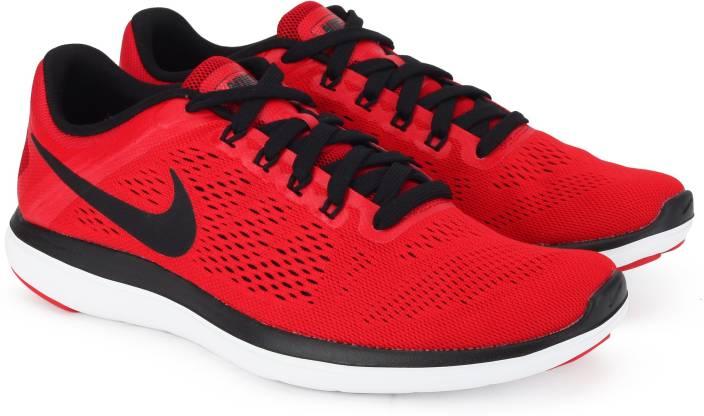 ce728c07358e6 Nike FLEX 2016 RN Running Shoes For Men - Buy UNIVERSITY RED BLACK ...