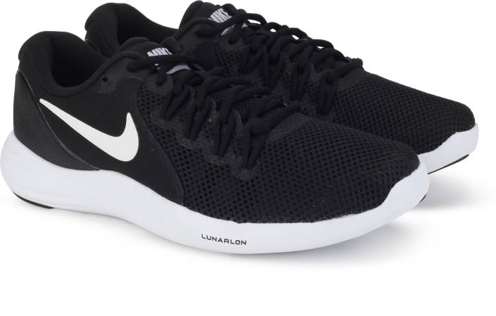 buy online 847c3 89383 Nike LUNAR APPARENT Running Shoes For Men (Black)