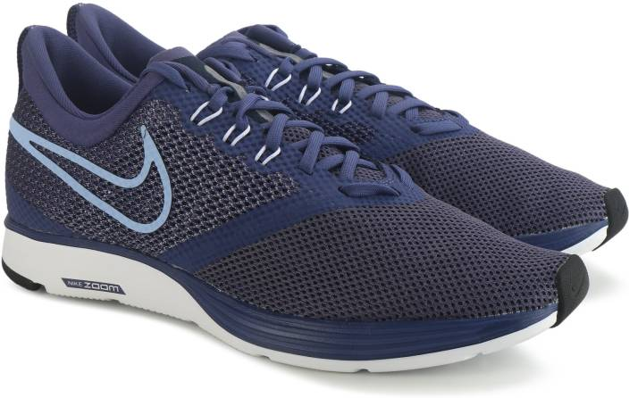 Nike WMNS NIKE ZOOM STRIKE Running Shoes For Women - Buy BLUE Color ... a584beb5b