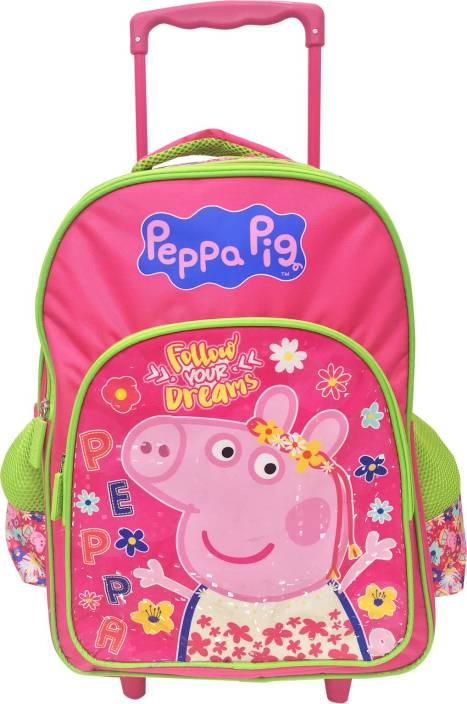Peppa Pig Tiara 16' ' T School Bag