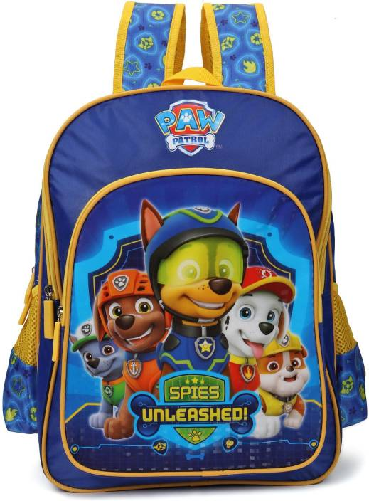 Nickelodeon Paw Patrol Spies 14    School Bag (Blue 273d52506ef0d