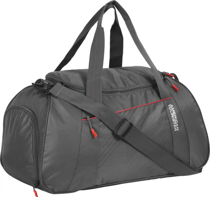 American Tourister (Expandable) Dunk Travel Duffel Bag Grey - Price ... d18cb6a5e654e