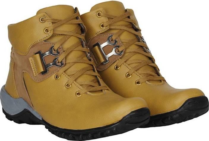 b4c4ac0d347 Rockfield Rockfield Tan casual party wear boots shoes for men's Party Wear  For Men (Tan) Boots For Men (Brown) Boots For Men