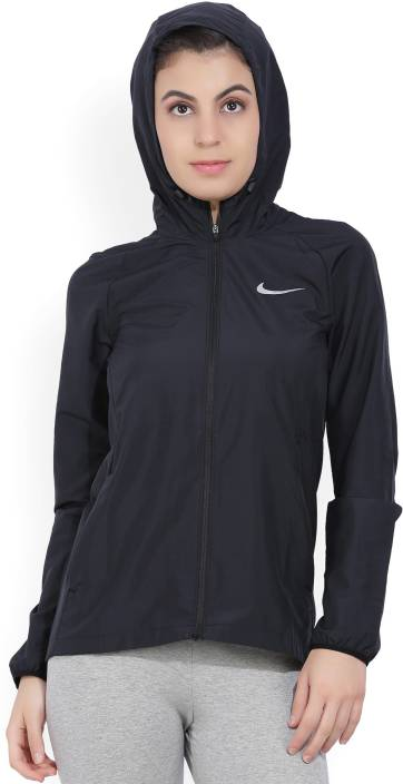 Nike Full Sleeve Solid Women's Jacket