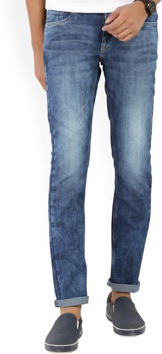 Flying Machine Skinny Men's Blue Jeans